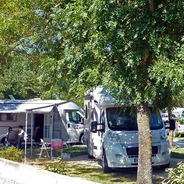 Camping 3 étoiles aire camping cars | Royan la Palmyre Charente Maritime